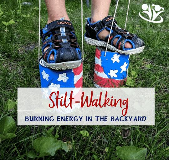 Stilt-Walking: Burning Energy in the Backyard