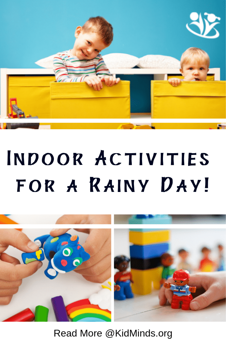 Ridiculously fun rainy day activities from your favorite bloggers: science activities, energy busters, craft ideas, and more.  #rain #handsonlearning #creativekids #learning #kidminds #boredombusters #rainraingoaway #learningallthetime #formoms #kidactivities #indooractivities #playmatters