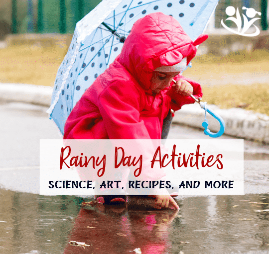 30 Rainy Day Activities from Your Favorite Bloggers
