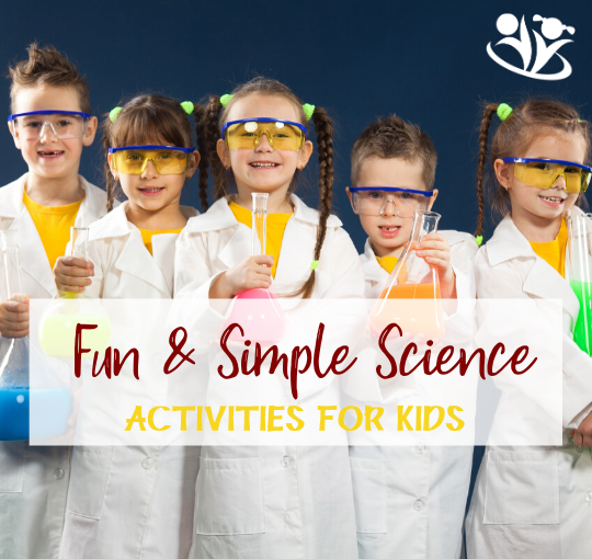 Simple Science Activities for kids. #formoms #earlylearning #handsonlearning #STEAM #scienceforlittlekids