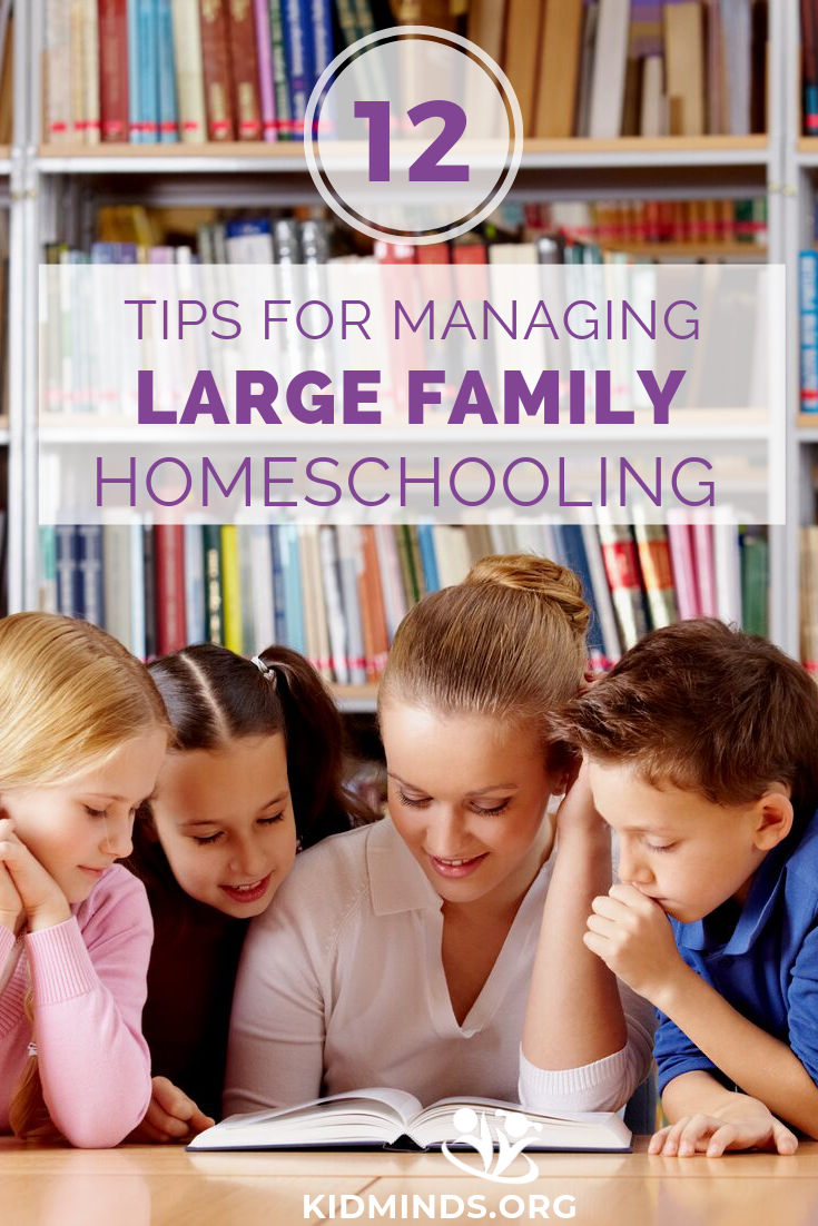 Do you want to know what a day in our homeschool is like? Here is a look into our homeschool, plus twelve tips for managing large family homeschooling without losing your mind. #homeschooling #homeschool #homeschoollife #homestyle #hereisourhomeschool #homeschoolers #enjoytheprocess #mindsetforhomescoolmom #homeschooljourney #homeschoolmom #learningallthetime #learnfromhome #ourfamilyrhythm #mindshift #mindset #welleducated #homeschoolprocess #schoolathome #homeed #homeeducation