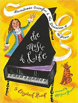 Wanting to learn to play a musical instrument is not the same as sticking to years of dedicated practice. Here is a list of picture books about musicians and musical instruments that will inspire love and appreciation of music. They also might help your kids to keep going when the going gets tough. #motivation #picturebooks #music #books #musicpicturebooks #picturebook #reading #magicofchildhood #kidmusicians #learntoplaypiano #playcello #kidsplay #readaloud #musicalkids #havingfun