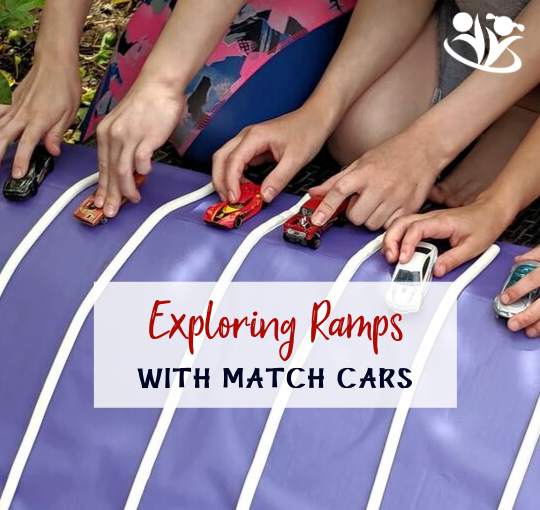 Exploring Ramps With Match Cars