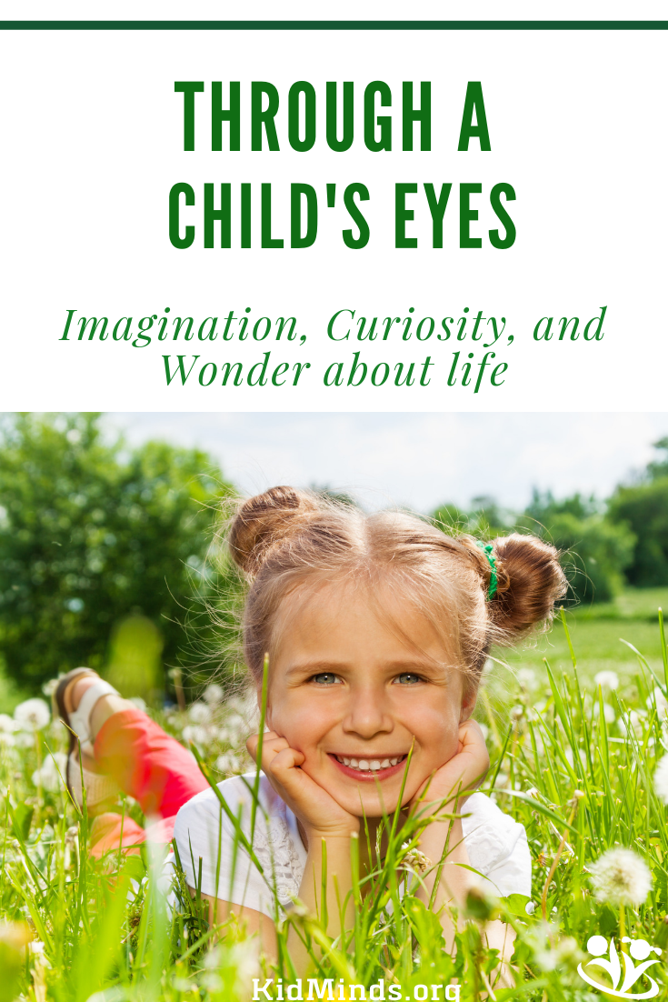 When you look at the world through your child's eyes, you'll discover there are more colors in it and more opportunities to wonder. You'll also learn that imagination is everything, curiosity is abundant, and wonder about life is central to the quality of our relationship with the world. All we need to do as parents is to nurture what's already there. #mindset #mindshift #throughaChildsEyes #formoms #homeschooling #parenting #imagination #curiosity #wonder