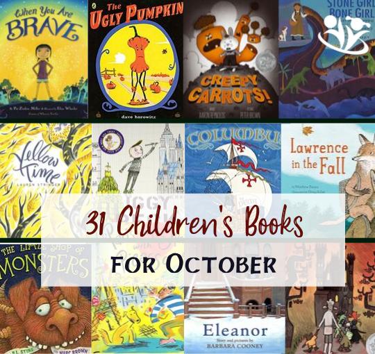 31 Children's Books for October