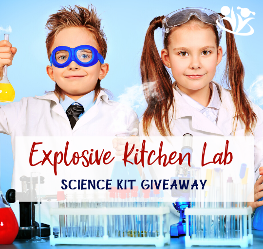 Science Kit GIVEAWAY: Explosive Kitchen Lab
