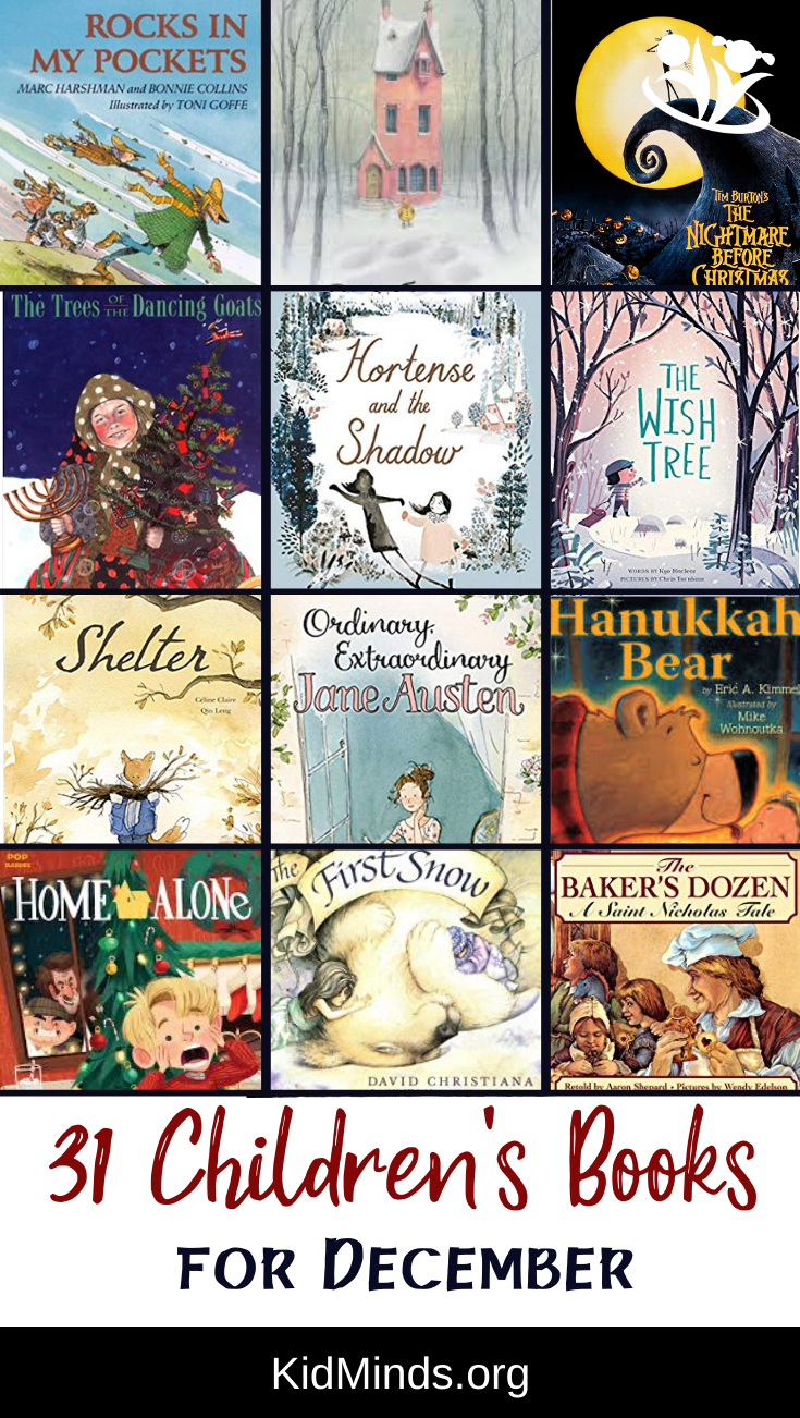 Children's book suggestion for every day in December - unforgettable stories, imaginative plots, and imaginative illustrations. #reading #kidlit #childrensbooks #storytime #kids #familyfun #kidlit #earlylearning #bestpicturebooks #books #raisingreaders #laughingkidslearn #homeschooling #December #winterreadinglist #Decemberbooksforkids #Decemberrbooks #dailyreading #picturebooks #kidsbooks #forkids #booksforkids #childrensillustrations #Christmas