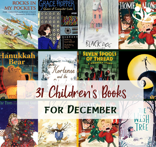 31 Children's Books for December