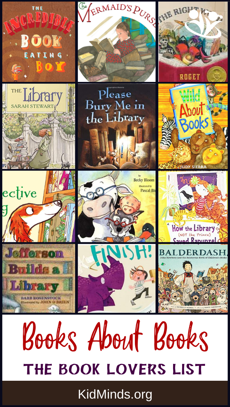 Children's books about books: collecting books, reading books, learning to read, visiting libraries, and life as a book lover…   #reading #kidlit #childrensbooks #storytime #kids #familyfun #earlylearning #bestpicturebooks #books #raisingreaders #laughingkidslearn #homeschooling #greatbooks #inspiringbooks #dailyreading #picturebooks #kidsbooks #forkids #booksforkids #childrensillustrations #WorldBookDay #LibraryLoversMonth #PictureBookMonth