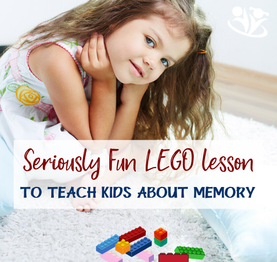 Things don't always magically sink into our kids' #brains just because we think it's a good idea. But with the help of a few #LEGO bricks and a piece of paper, you can teach your kids what they need to know about their #memory, so they can make the most of it.  #mindtools #learning #smartkids