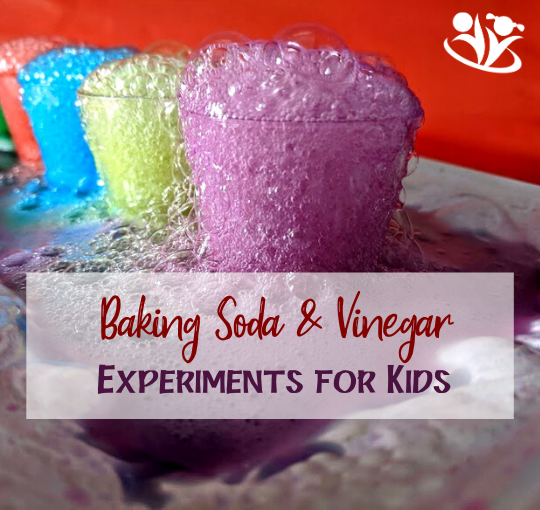 Your kids will never turn down an invitation to do baking soda and vinegar activities. #kidsactivities #STEAM #learningfun #creativelearningideas #kidminds #laughingkidslearn