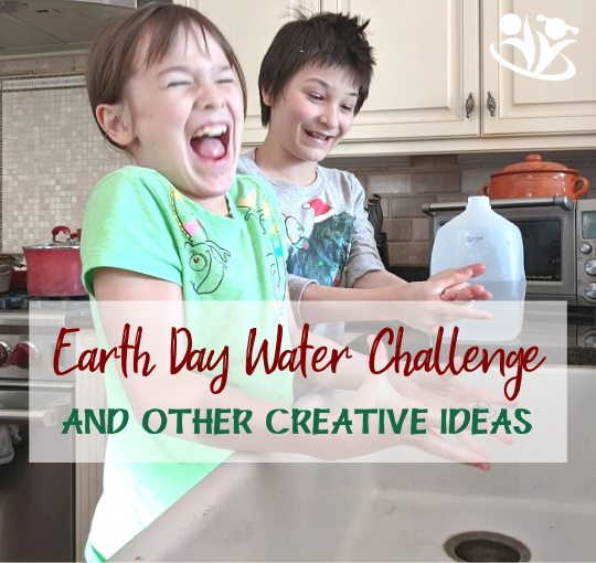 Earth Day Water Challenge and more Earth Day Activities