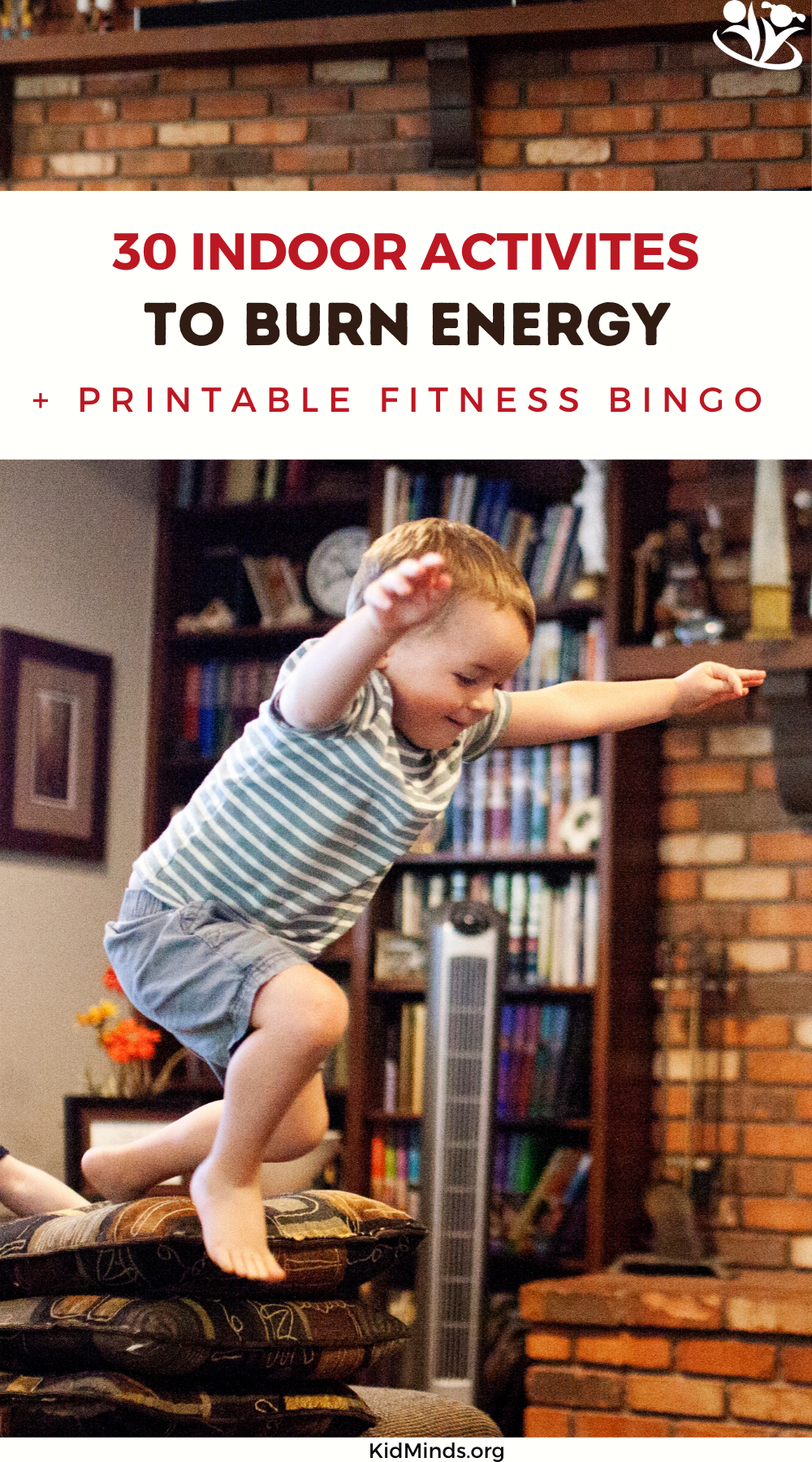 Easy indoor fitness activities to help highly energetic kids burn off some energy and get them moving with a purpose before you lose your mind. #formoms #fitness #indoorgames #activekids