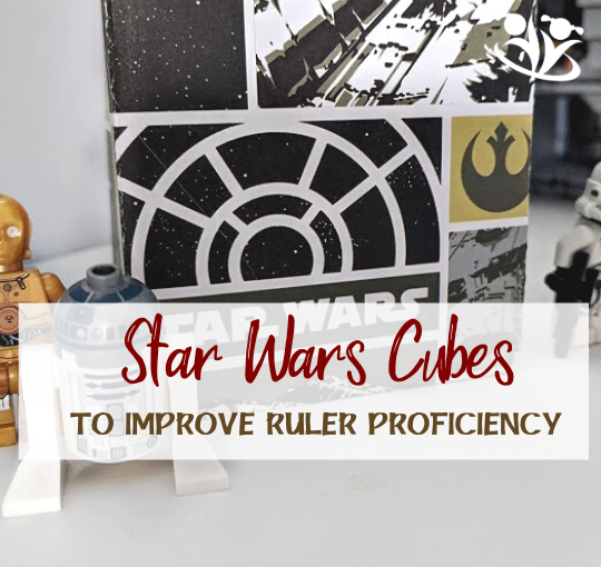 Stellar Star Wars Cubes to Improve Ruler Proficiency