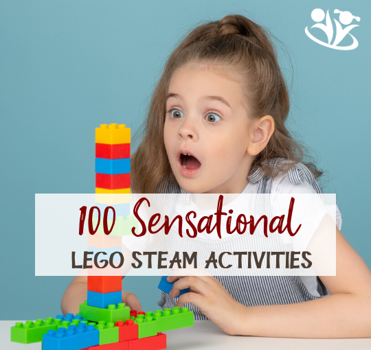 "LEGO STEAM. Smartphones and computers usually come to mind when we talk about ""technology,"" but the word means so much more. #STEAM #LEGO #kidsactivities #kidminds #handsonlearning"
