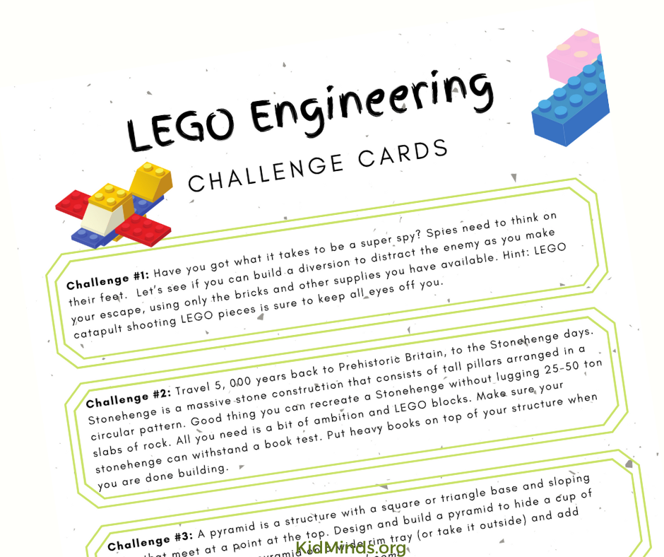 Engineers apply science, technology, engineering, art, and math (the whole STEAM) to find solutions to technical problems. #STEAM #LEGO #kidsactivities #kidminds #handsonlearning