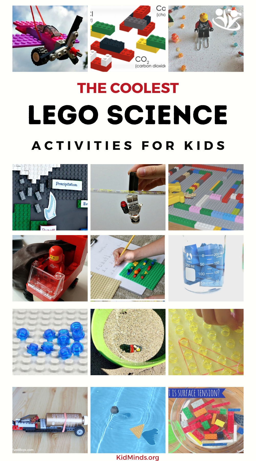 LEGO STEAM ideas. Little kids are born scientists: driven by a natural curiosity and a desire to figure out how the world works. #STEAM #LEGO  #kidsactivities #kidminds #handsonlearning