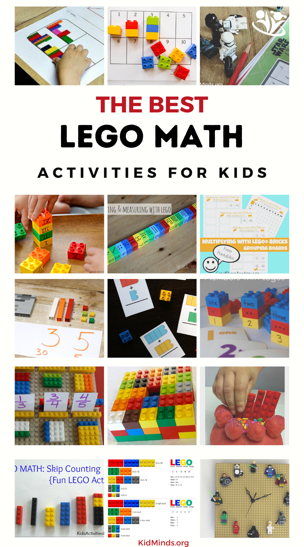 LEGO STEAM. LEGO play brings many mathematical concepts to life by making them visible and tangible. #LEGO #STEAM #kidsactivities #math #handsonlearning