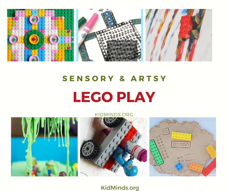LEGO STEAM. Art is a sensory STEAM and a vital component of creative thinking.  #STEAM #LEGO  #kidsactivities #kidminds #handsonlearning