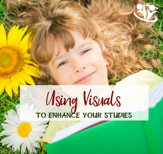 Practical tips for using visuals with your kids to help them better engage with the material and absorb more information. #handsonlearning #kidsactivities #howkidslearn
