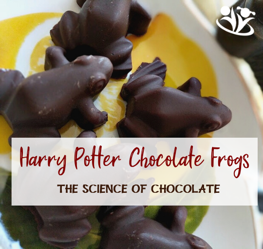 The Science Behind Chocolate: Harry Potter Chocolate Frogs