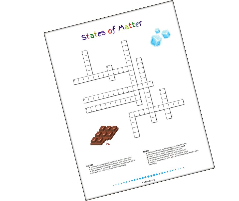 #statesofmatter #scienceprintables