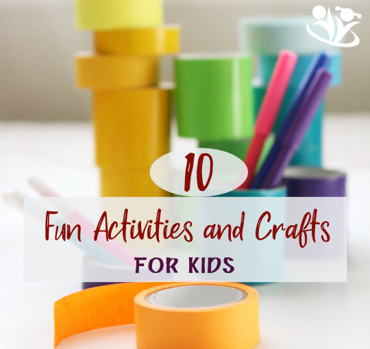 10 Fun Activities and Crafts for kids #handsonlearning #boredombusters #kidscrafts #kidminds #creativekids