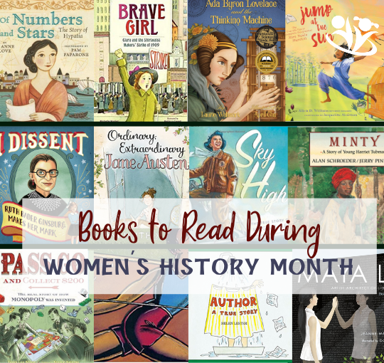 Amazing picture books to read during women's history month to educate our kids and spark some juicy discussions. #kidlit #readinglist #raisingreaders #kidminds #picturebooks