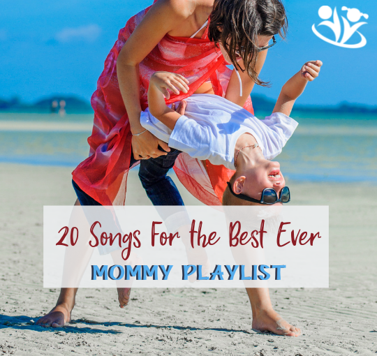 Here is a collection of happy tunes for moms that will put a smile on your face. #formoms #happymom #stayathomemom #workingmom #mindset