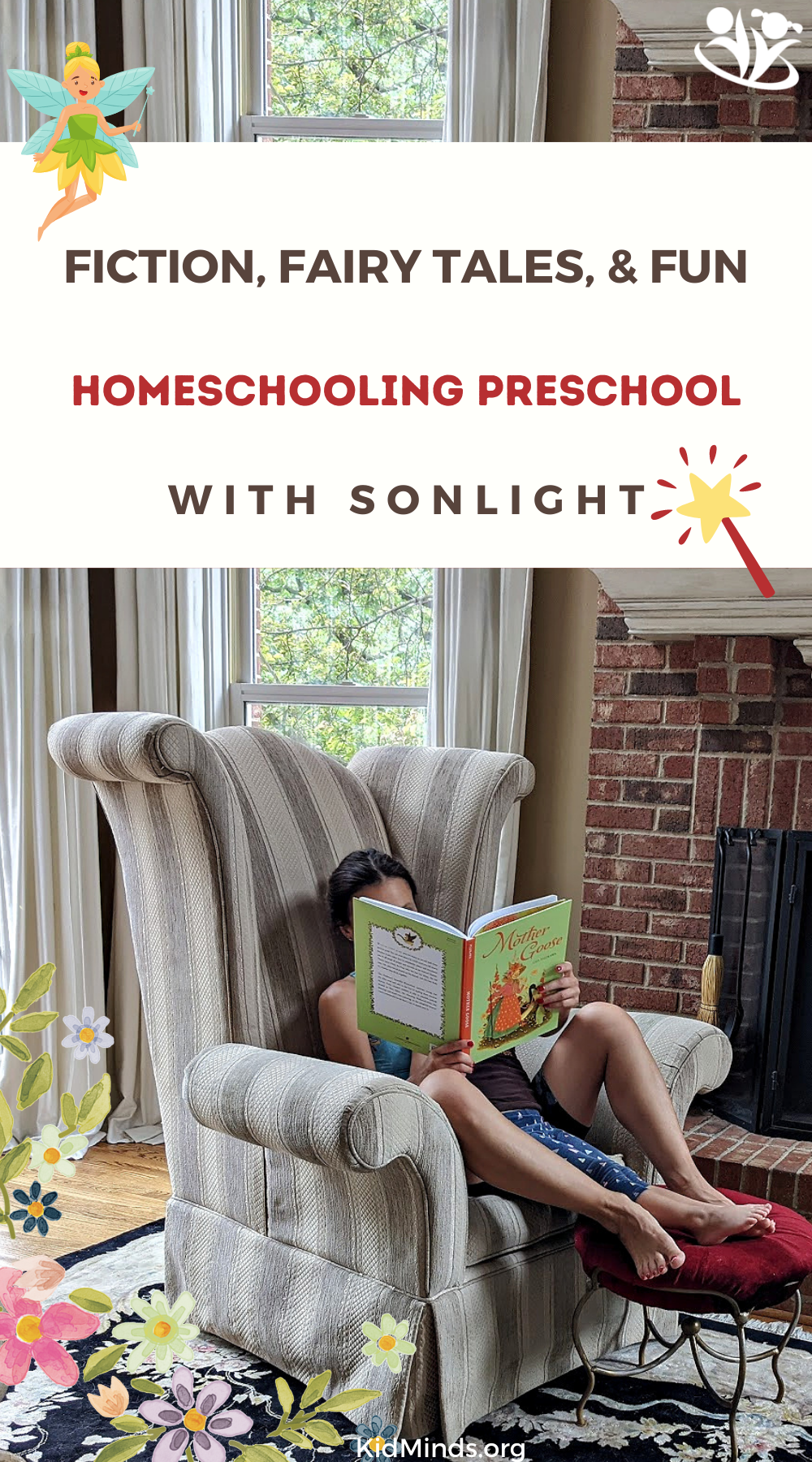 Preschool education at home doesn't have to be complicated. With the Sonlight you get a complete package and instructions. #preschool #curriculum #sonlight #homeschooling #fairytales