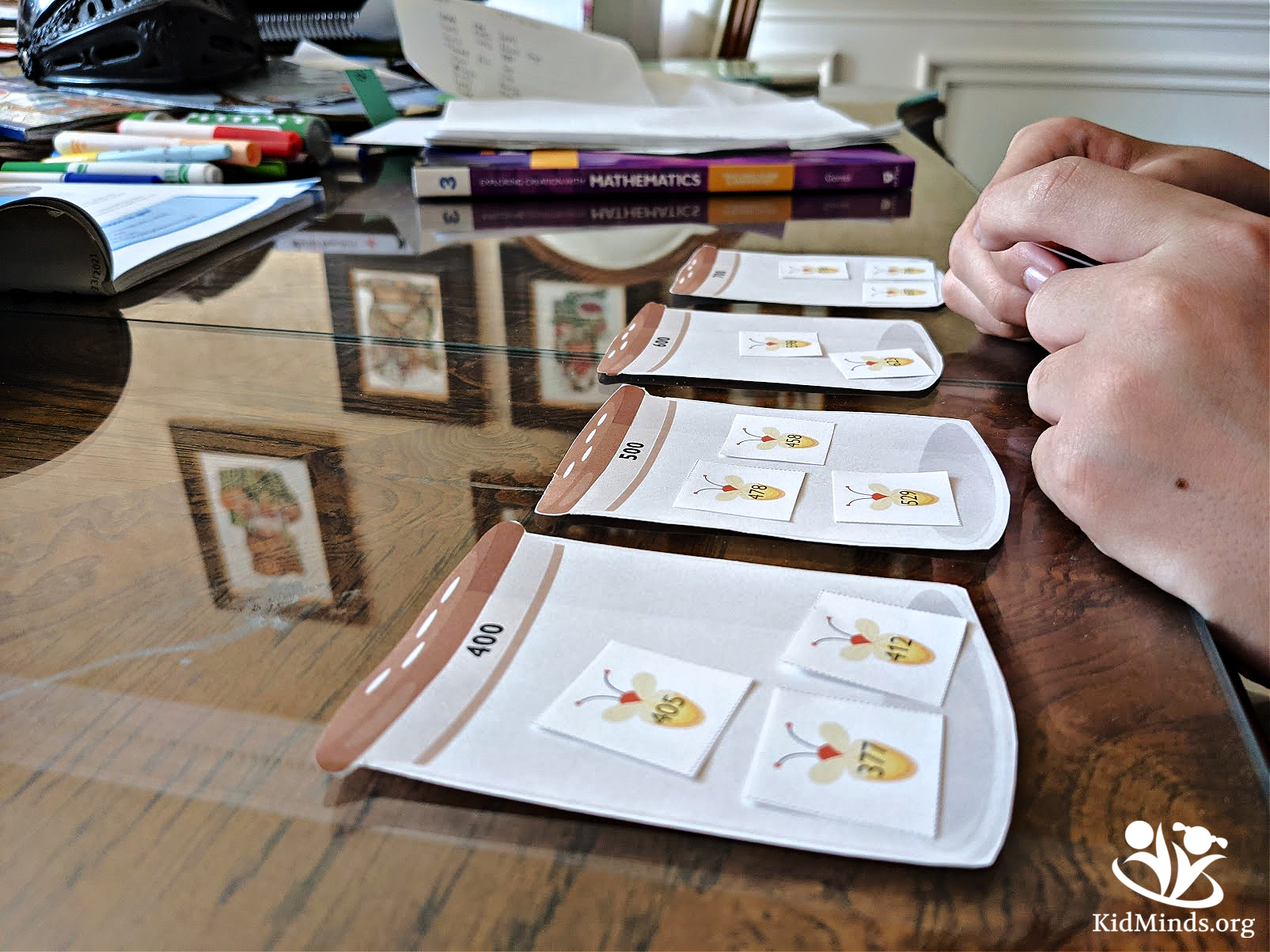 What would it be like to have fun teaching math at home? We tried the Apologia Math Curriculum for elementary grades and give it an enthusiastic thumbs up! #homeschooling #elementarymath #curriculum