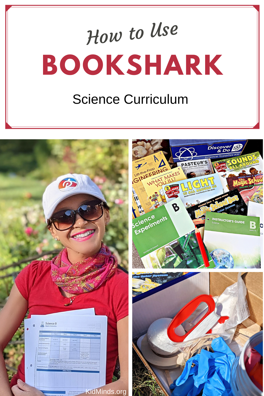 BookShark is the perfect homeschool science curriculum for your family: hands-on, literature-based, and convenient. No time to pick up science supplies for experiments? No problem. Everything is already included in the package. #science #STEAM #homeschooling